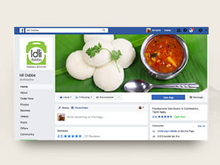 IDLI DABBA - Graphic Design Services - Qik.Digital