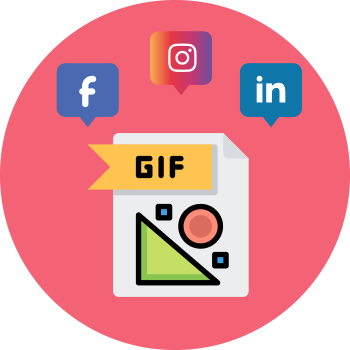 Animated GIF Social Media Design Service