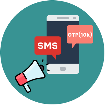 SMS Marketing - OTP (1L) Service