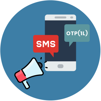 SMS Marketing - OTP (10K) Service